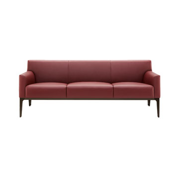 Office Furniture Now Seating Boss Design | Alexa Three Seater Sofa