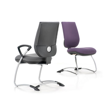 Office Furniture Now Seating Gresham | Move Up Fully Upholstered Visitors Chair