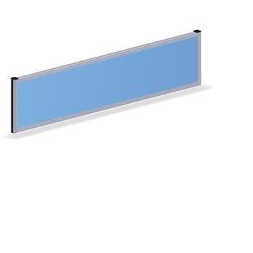 Office Furniture Now Screens Gresham | Desk Mounted Fabric Screen 380mm high