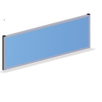 Office Furniture Now Screens Gresham | Desk Mounted Fabric Straight Screen 480mm high